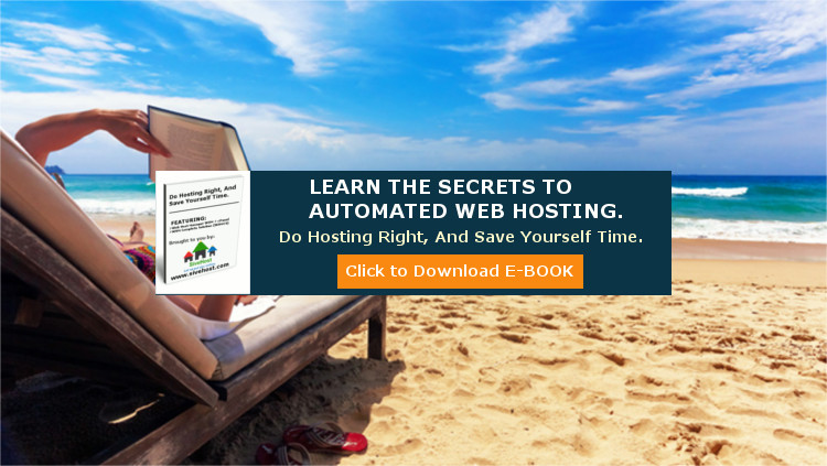 Free E-Book you can use to automate your web hosting