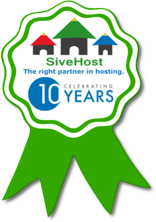 SiveHost more than 10 years in Hosting and Cloud Infrastructure Business